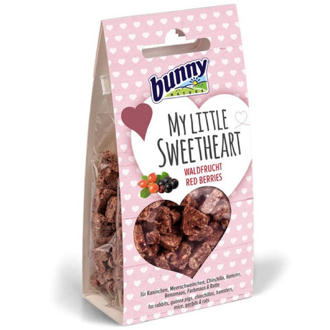 Bunny Nature My Little Sweetheart Red Berries Treats 30g