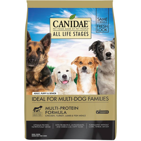 UP TO 25% OFF': Canidae All Life Stages Chicken, Turkey, Lamb, Fish Dry Dog Food - Kohepets