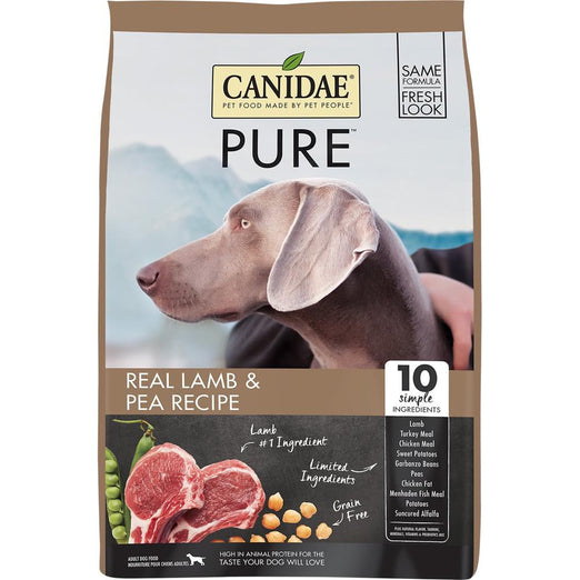 Canidae Grain-Free Pure Elements Real Lamb Recipe Dry Dog Food - Kohepets