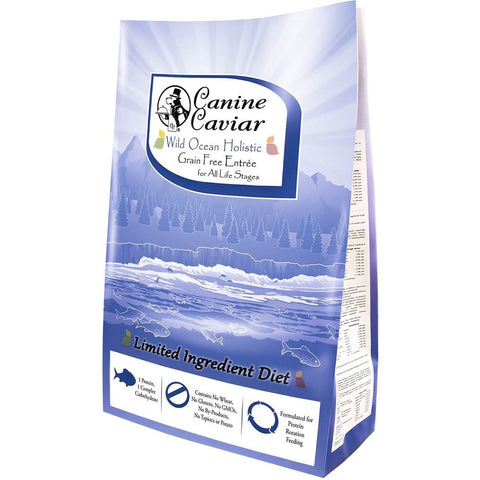 Canine Caviar Wild Ocean Holistic Grain Free Limited Ingredient Dry Dog Food