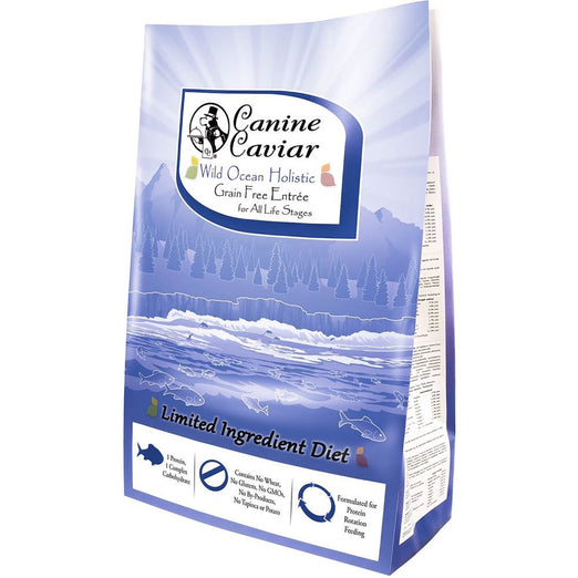 Canine Caviar Wild Ocean Holistic Grain Free Limited Ingredient Dry Dog Food - Kohepets