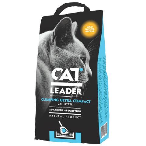 Cat Leader Premium Clumping Clay Cat Litter with Wild Nature Aroma - Kohepets