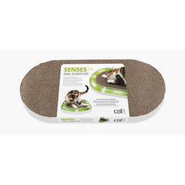 Catit 2.0 Senses Oval Scratcher For Cats