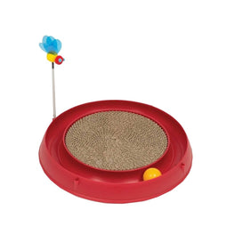 Catit Play 3-in-1 Circuit & Cardboard Scratch Pad Cat Toy