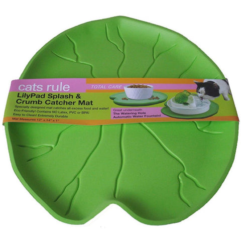 Sweety Lilypad Splash & Crumb Catcher Place Mat - Kohepets