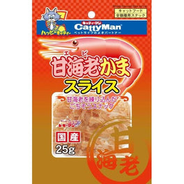 Cattyman Shrimp Slices Cat Treat 25g