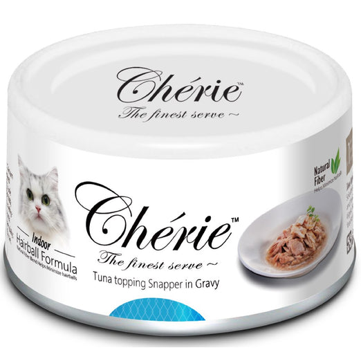 Cherie Tuna Topping Snapper In Gravy Canned Cat Food 80g - Kohepets