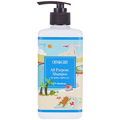 Chitocure All Purpose Shampoo for Cats & Dogs - Kohepets