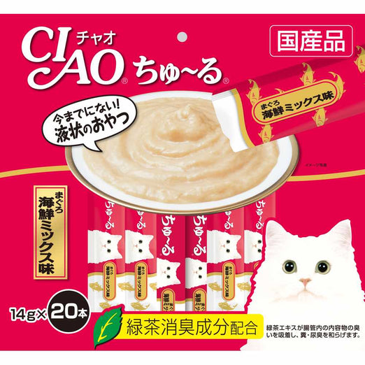 Ciao ChuRu White Meat Tuna Liquid Cat Treat 280g