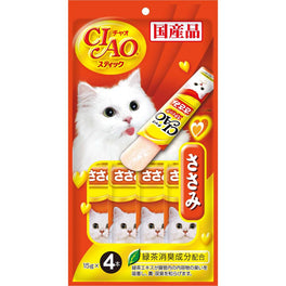 Ciao Stick Chicken Fillet In Jelly Cat Treat 60g
