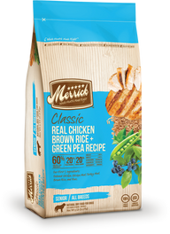 Merrick Classic Senior Real Chicken, Brown Rice & Green Pea Dry Dog Food 5lb