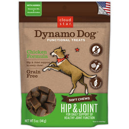 35% OFF: Cloud Star Dynamo Dog Chicken Hip & Joint Soft Chews Dog Treats 5oz (Exp 5 May 19)
