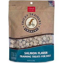 BUY 2 GET 1 FREE: Cloud Star Crunchy Tricky Trainers Salmon Dog Treats 227g
