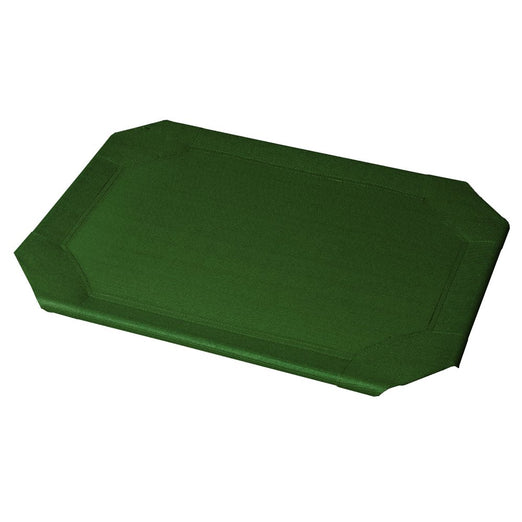 Coolaroo Elevated Pet Bed Replacement Cover - Green - Kohepets