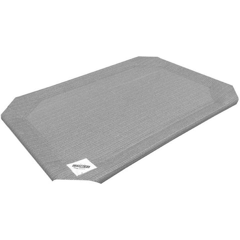 Coolaroo Elevated Pet Bed Replacement Cover - Grey - Kohepets