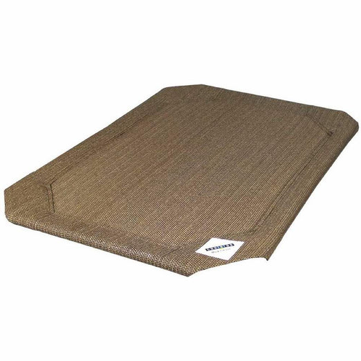 Coolaroo Elevated Pet Bed Replacement Cover - Nutmeg - Kohepets