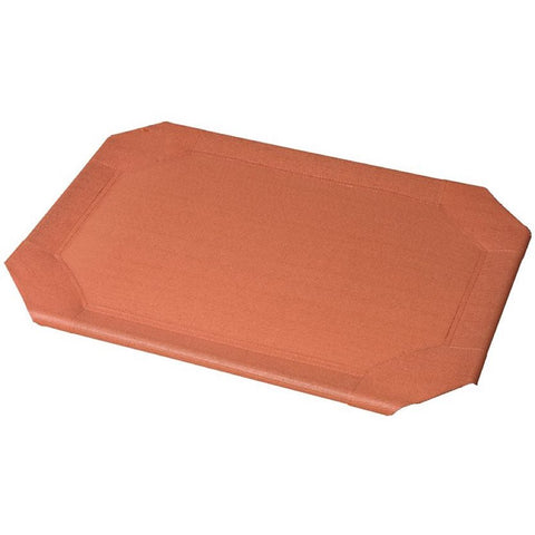Coolaroo Elevated Pet Bed Replacement Cover - Terracotta - Kohepets
