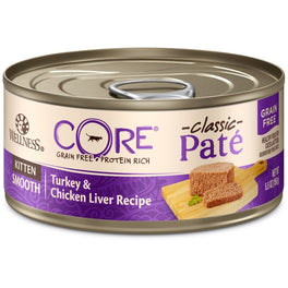 Wellness CORE Pâté Kitten Turkey & Chicken Liver Canned Cat Food 155g