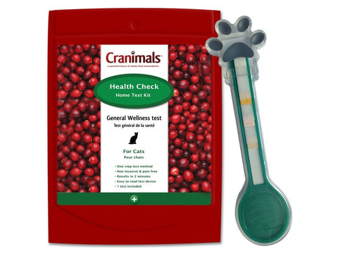 Cranimals Health Check Test Kit For Cats - Kohepets