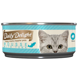 Daily Delight Mousse With Tuna Canned Cat Food 80g