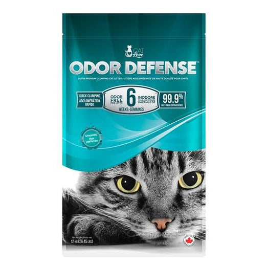 BUY 2 GET 1 FREE: Cat Love Odor Defense Unscented Premium Clumping Cat Litter 12kg