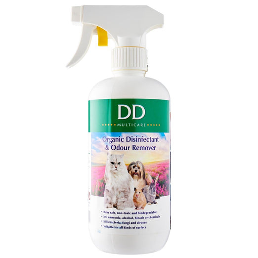 DD Multicare Surface Disinfectant & Odour Remover Spray 500ml - Kohepets