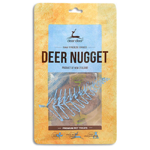 Dear Deer Freeze Dried Deer Nugget Dog & Cat Treats 80g - Kohepets