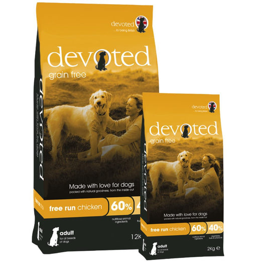 Devoted Free Run Chicken Grain Free Dry Dog Food - Kohepets
