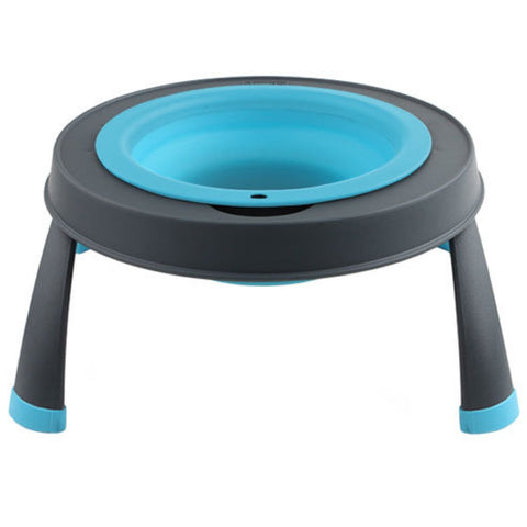 Dexas Single Elevated Pet Bowl- Large