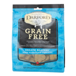 Darford Grain Free Breath Beaters Dog Treats 340g
