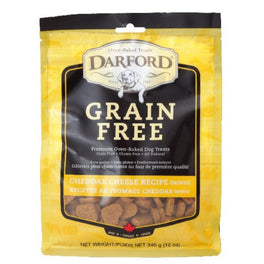 Darford Grain Free Cheddar Cheese Recipe Dog Treats 340g