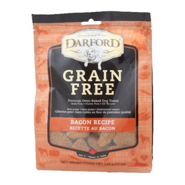 Darford Grain Free Bacon Recipe Dog Treats 340g