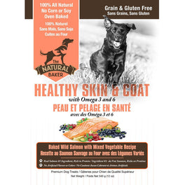 The Natural Baker Grain Free Healthy Skin & Coat Dog Treats 340g