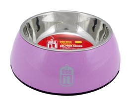 Dogit Durable Bowl with Stainless Steel Insert for Dogs M