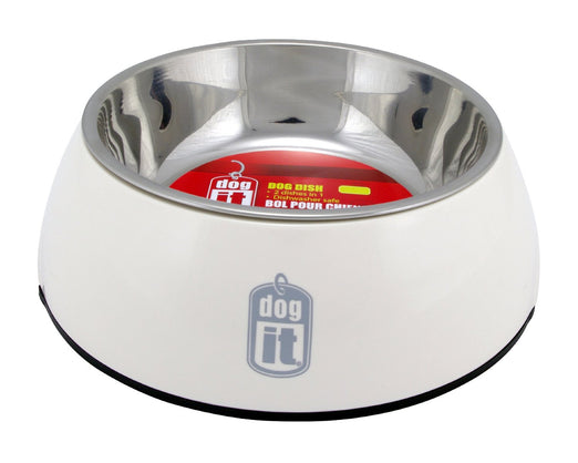 Dogit Durable Bowl with Stainless Steel Insert for Dogs L