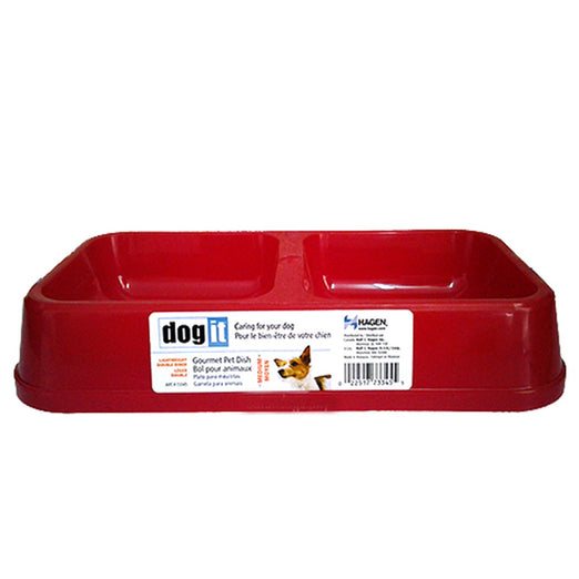 Dogit Red Large Gourmet Pet Dish - Kohepets
