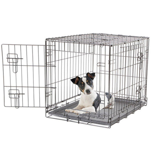 Dogit Two Door Wire Home Crate - Kohepets