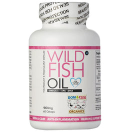 Dom & Cleo Wild Fish Oil 60 Cap