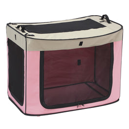 Marukan One Touch Foldable Dog Cage (Medium)