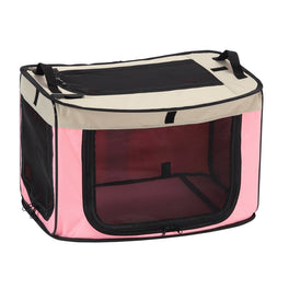 Marukan One Touch Foldable Dog Cage (Large)