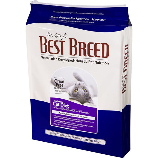 Dr. Gary's Best Breed Cat Diet Grain Free Dry Cat Food