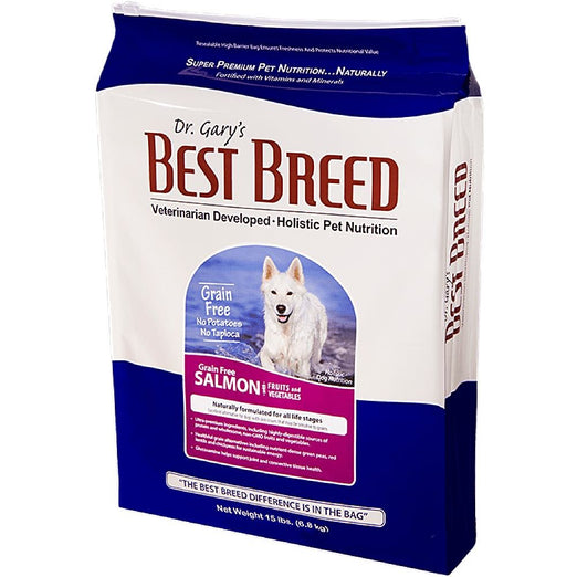 Dr. Gary's Best Breed Holistic Salmon With Fruits & Vegetables Grain Free Dry Dog Food