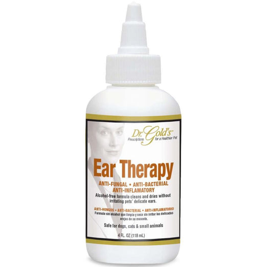 Dr Gold's Extra Gentle Ear Therapy 4oz - Kohepets