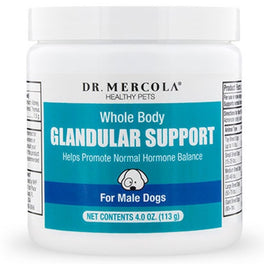 Dr. Mercola Healthy Pets Whole Body Glandular Support Supplement For Male Dogs 4oz
