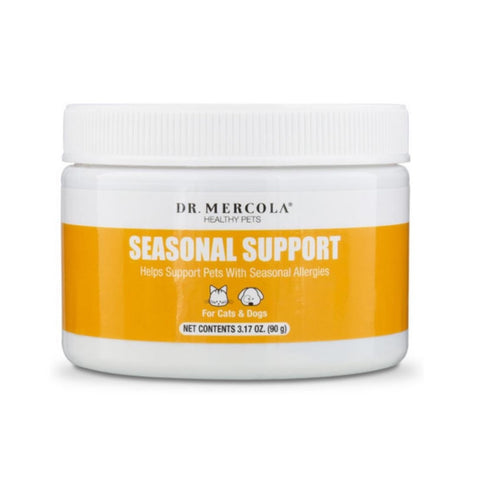 Dr. Mercola Healthy Pets Seasonal Support Pet Supplement 3.17oz