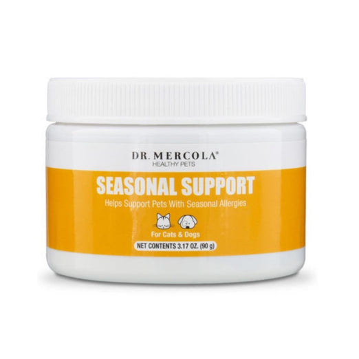 Dr. Mercola Healthy Pets Seasonal Support Pet Supplement 3.17oz - Kohepets