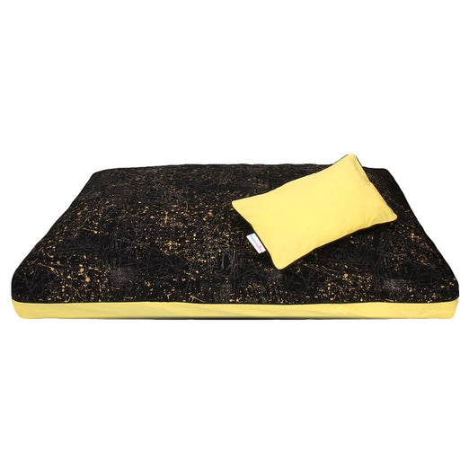 DreamCastle Natural Dog Bed (Yellow Hellow)