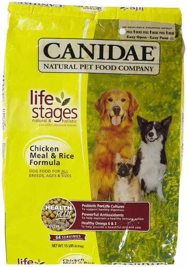 Canidae Chicken Meal & Rice Dry Dog Food - Kohepets
