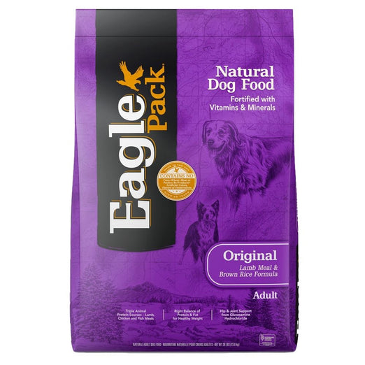 'FREE TREATS w 30lb': Eagle Pack Adult Lamb & Rice Dry Dog Food