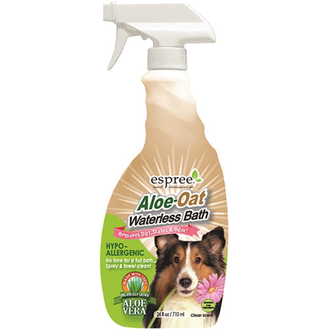 Espree Aloe Oat Waterless Bath 24oz - Kohepets